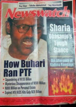 How Buhari Ran PTF, Missing N500m – Newswatch [2000]
