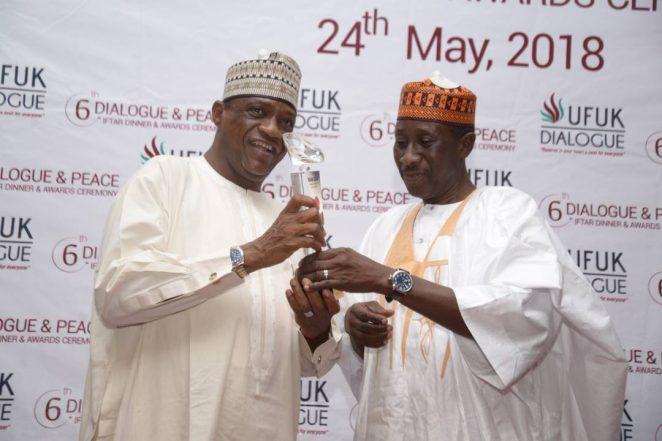 UFUK Preaches Peace, Honours Dogara, Gaidam, Others