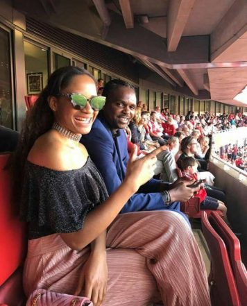 Kanu Nwankwo: Super Eagles Great Present At Emirates Stadium To Honour Wenger