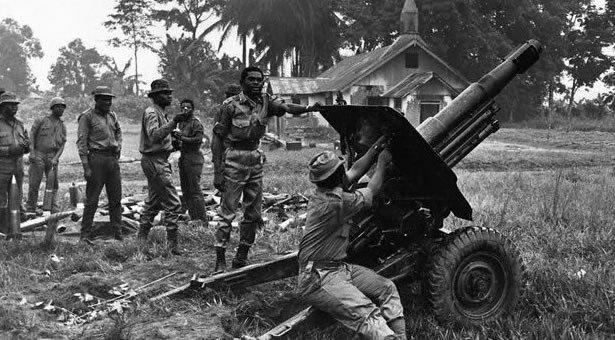 Nigeria Police Destroy 15 Unexploded Civil War Bombs In Enugu