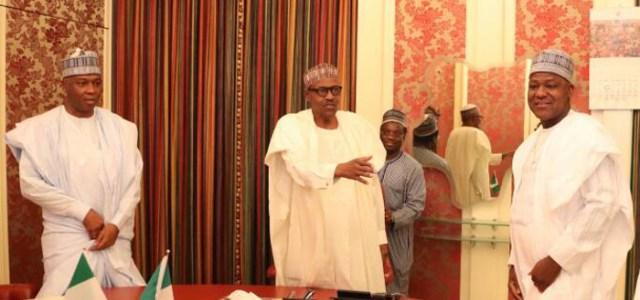 We Only Talked To Buhari About Dino Melaye And IGP – Saraki, Dogara
