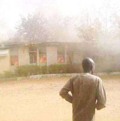 APC Ward Congress: Thugs Burn Bauchi Council Secretariat