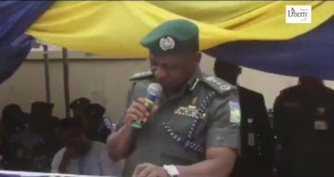 NASS Siege Report: IGP, Oshiomhole Colluding To Implicate Saraki