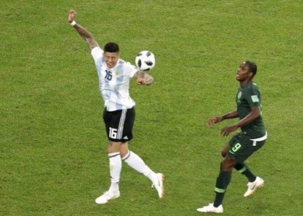 World Cup: Mikel Obi questions referee's decision to deny Super Eagles second penalty