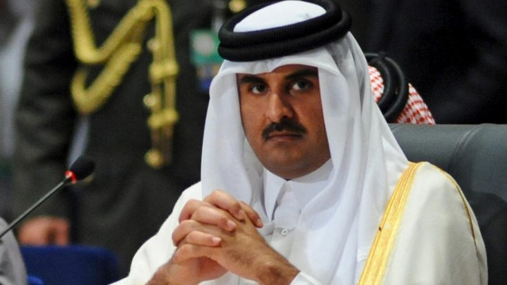 The Father Emir of Qatar Confirming Meeting between His Son and Jared Kushner