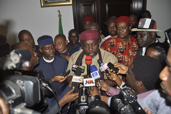 Imo APC Chairman Denies Any Truce With Okorocha