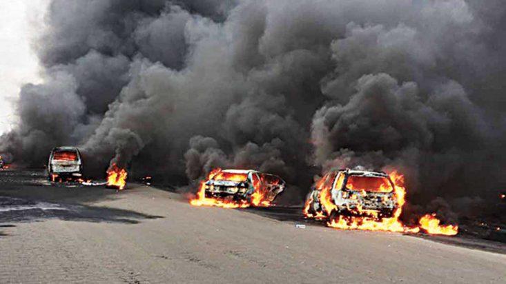 PDP Mourns Victims Of Lagos Tanker Fire, Katsina Windstorm