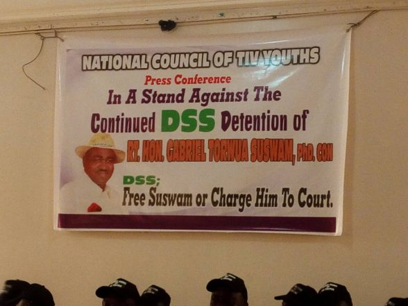 Free Suswam Or Charge Him To Court, Tiv Youths To DSS