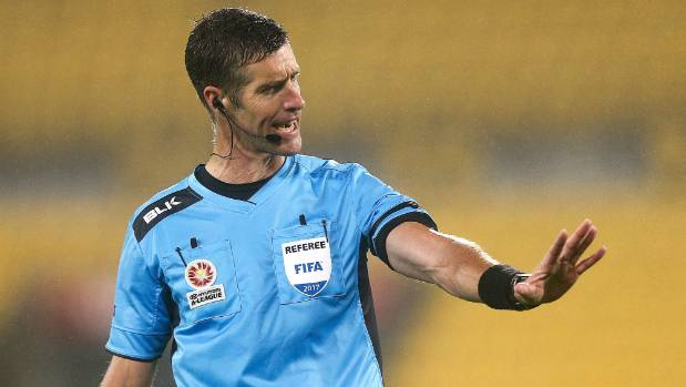 New Zealand Ref Conger, Familiar To Nigeria, To Handle Super Eagles Vs Iceland Clash