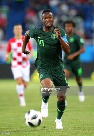 Mourinho says Mikel a bad '10' for Nigeria