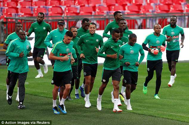 England Vs Nigeria: Super Eagles Looking To Fine Tune 2018 World Cup Preparation With Wembley Friendly