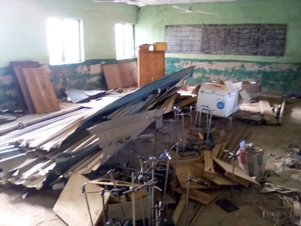 Islamiya College Patigi: A School Where Students Learn in Uncompleted Buildings