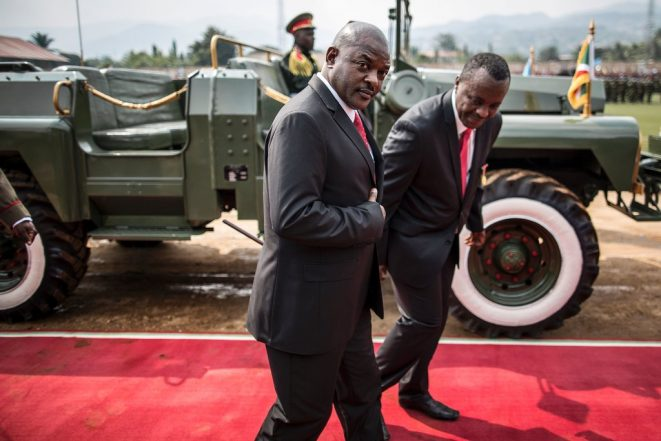 Burundi's President Says He Won't Seek Another Term