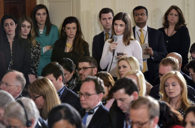 White House bans CNN reporter