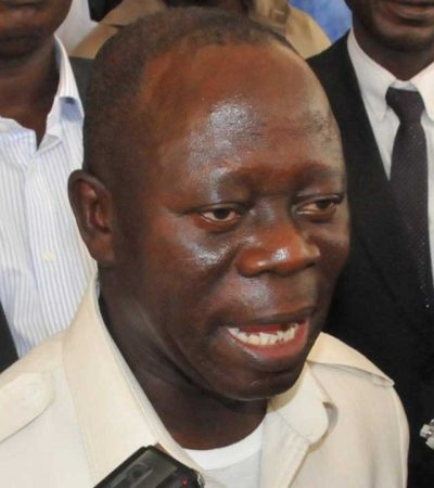 Court rejects pro Oshiomhole members-elect's plea to take over Edo Assembly