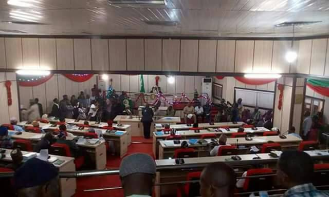 Benue Assembly: Drama As Ikyange Led Faction Begins Process To Impeach Ortom