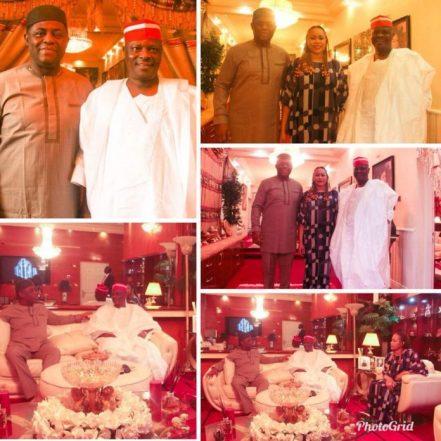 2019: Kwankwaso Visits Fani-Kayode In Abuja
