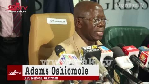 APC Reschedules Presidential Primary, To Hold Sept. 26