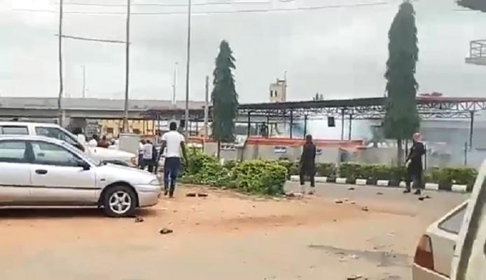 [Video] APC Led Shooting At PDP Rally In Ekiti