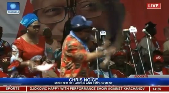 [Video] You Must Bring Back Fayose On Saturday – Chris Ngige