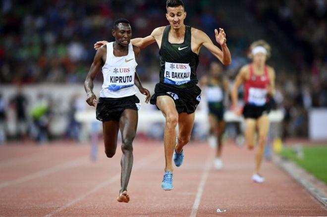 Diamond League: Kenya's Kipruto wins 3000m after losing shoe