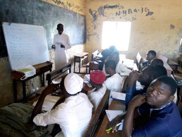Educationist Sensitizes 150 Students On Harmful Effect Of Drug Abuse Among Youth, And Ways To Stay Abstinence