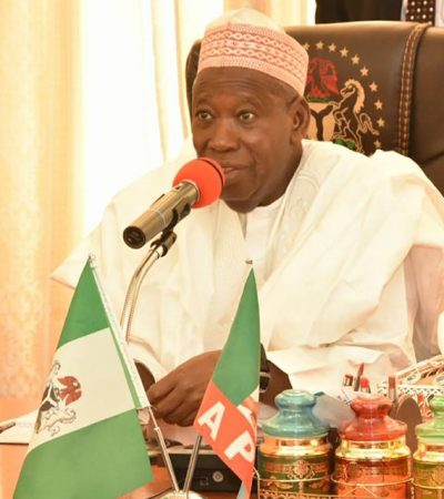 Ganduje Trains 60 Youths On Heavy Vehicle Repairs, As They Take Away N30 Million Take-Off Grant