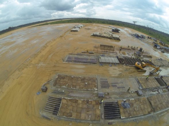 Bayelsa Airport: Iworiso-Markson Inspects Work On State TV Mast