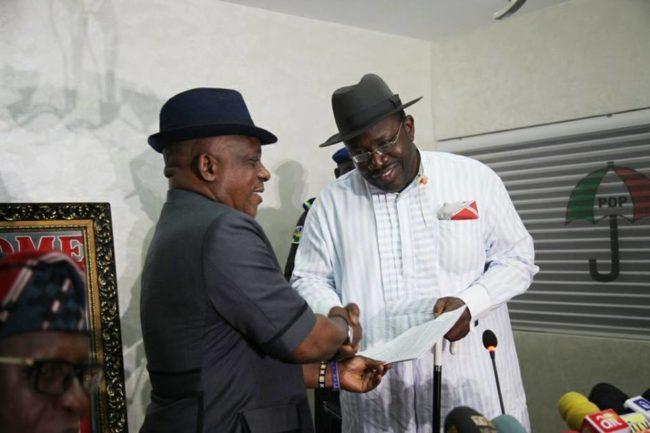 Dickson Best Governor In Nigerian, Says Secondus