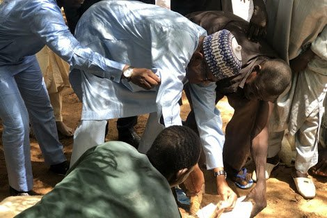President Buhari Marks Eid-El-Adha With Prayers, 800 Metres Walk