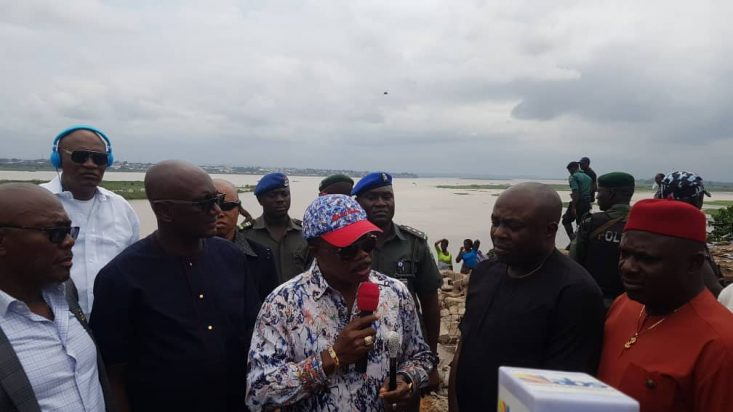 Illegal Marine Settlement In Onitsha Cleared As The Fight Against Crime In Anambra Continues