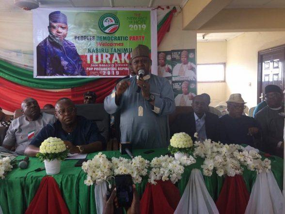 PDP Presidential Aspirant, Kabiru Tanimu Turaki Condemns Buhari