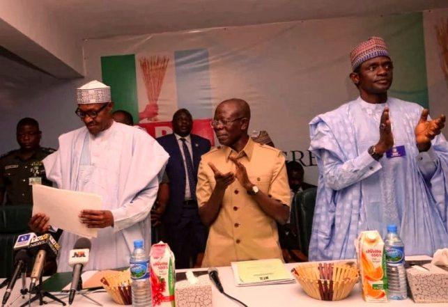 2019: APC Presidential Hopeful Withdraws For Buhari, Cites Cost Of Forms
