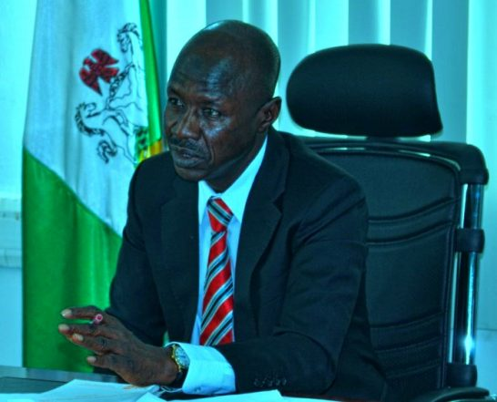 """EFCC: """"Magu Approved Raid On Standard Chartered Bank But Denies It"""""""