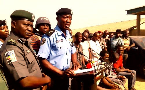 Police Arrests Female Robber, 10 Others In Benue, Recovers Arms