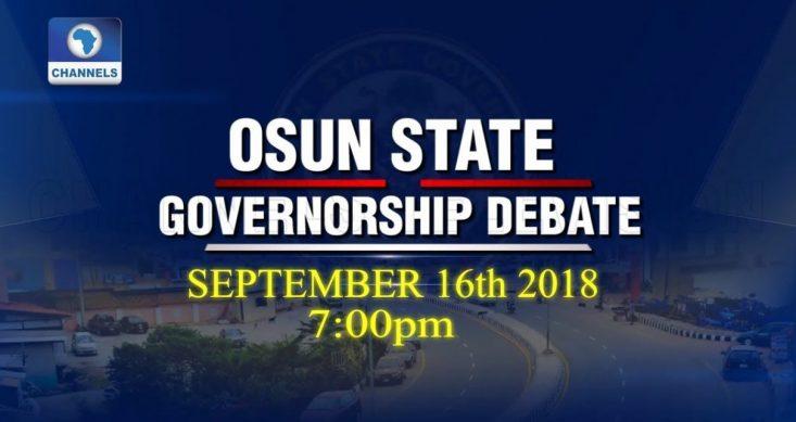 Takeaways From Osun Governorship Debate – By Abiodun Komolafe