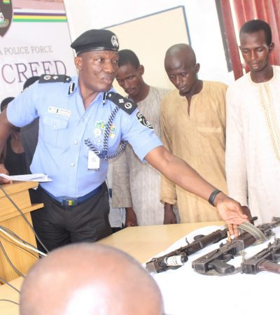 Police Parade 18 Notorious Kidnappers