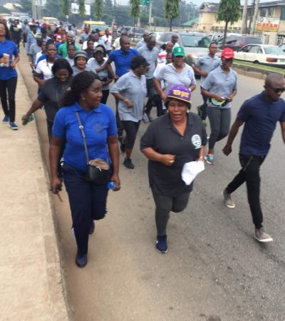 2018/2019 Legal Year: Edo Chief Judge, Judiciary Workers Walk For Charity