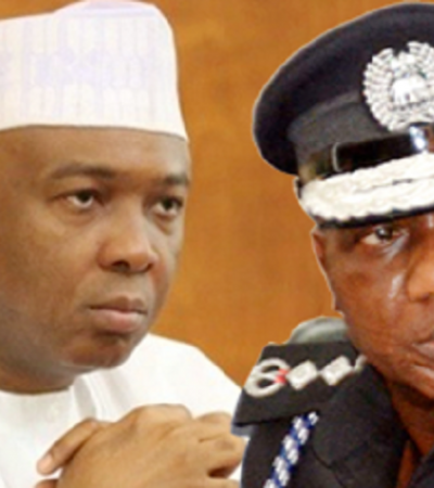 Saraki Reacts To The Invitation Of PDP Senators By The Police Over Protest