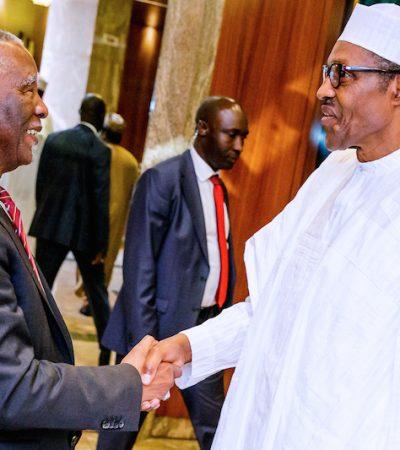 """Fighting Corruption Is Non-Negotiable""- Buhari To Mbeki"