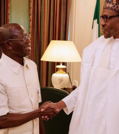 Buhari, Oshiomhole Meet In Aso Rock Over 2019 Elections