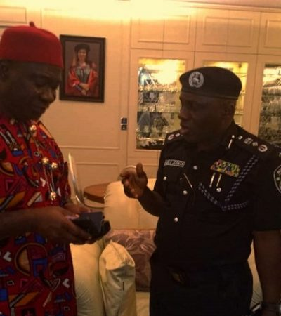 Assassination Attempt: Suspect Hit Ekweremadu's Son On the Head With Car Jack