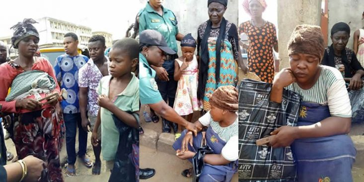 Police Arrests Fake Blind Beggars Using Rented School Kids In Anambra State