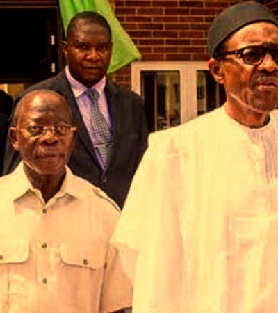 Buhari, Tinubu Doubles Up On Oshiomhole