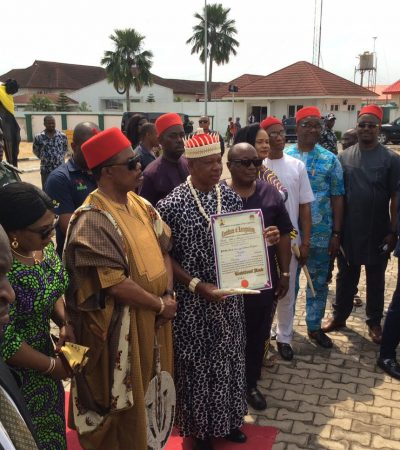 Obiano Certifies First Ever Lilu Monarch, 34-Years After Race Began