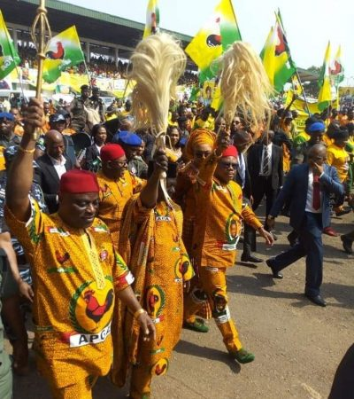 APGA Presidential Candidate To Nigerians – We Are Here To Make The Difference