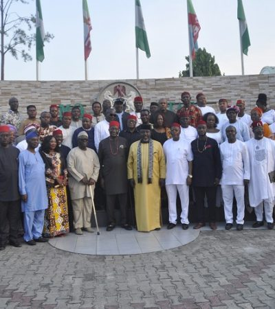 Ohaneze & Afenifere Leaders Now In Owerri For Igbo DayCelebration