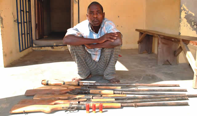 What My Customers Do With The Guns Is Not My Business — Arrested Arms Seller