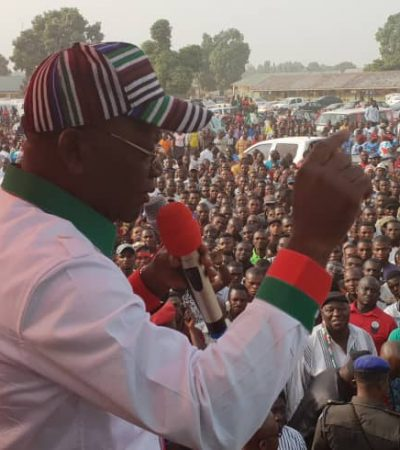 2019: Ortom, Suswam Take Logo, Ukum By The Storm, Receive APC Decampees