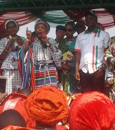Vote Atiku For President, APC Govt is Deceitful – Titi Abubakar Tells Benue Women